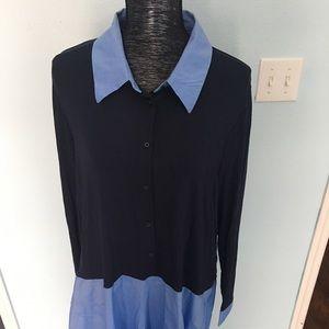 Lane Bryant dress blouse